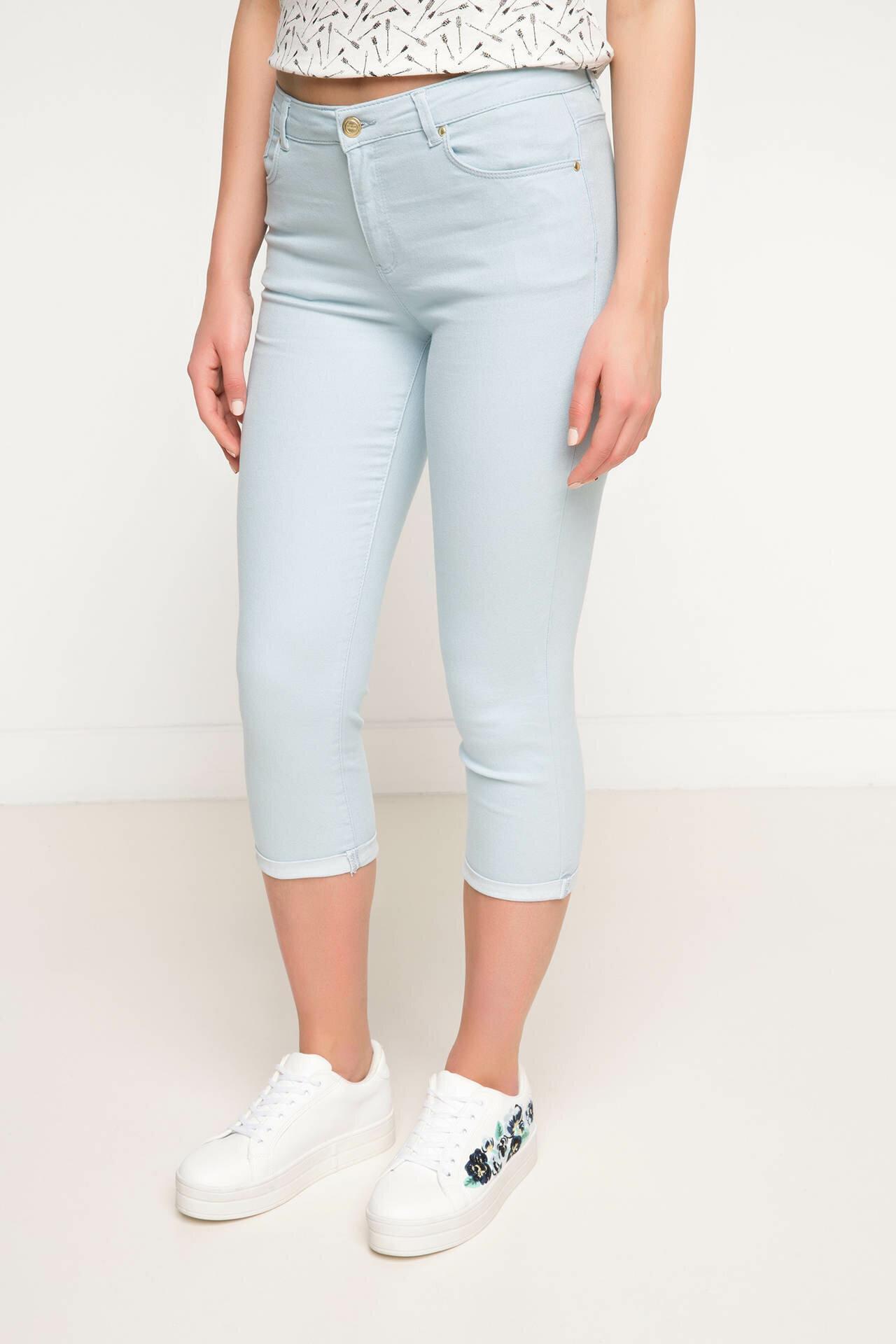 Tesettür Alt Giyim DeFacto Mavi Kadın 36