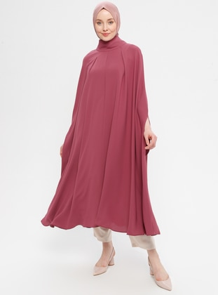 Rose - Polo neck - Unlined - Poncho