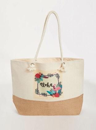 Beige - Bag