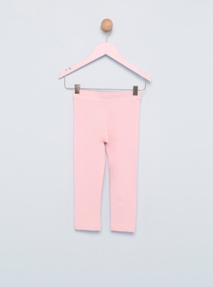 Unlined - Pink - Girls` Leggings
