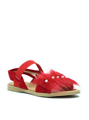 Red - Sandal - Sandal - Y-London