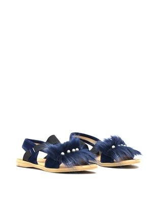 Navy Blue - Sandal - Sandal - Y-London