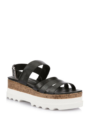 Black - Girls` Sandals - DeFacto