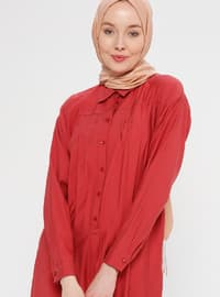 Coral - Point Collar - Tunic