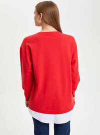 Red - Girls` Tunic