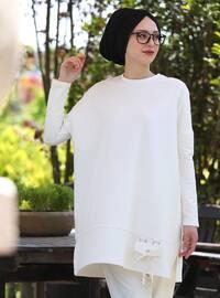 Beyaz - Astarsız kumaş - Pamuk - Takım Elbise