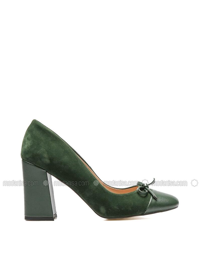 Khaki - High Heel - Shoes