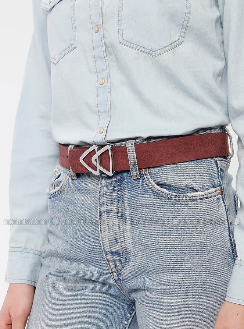 Maroon - Belt