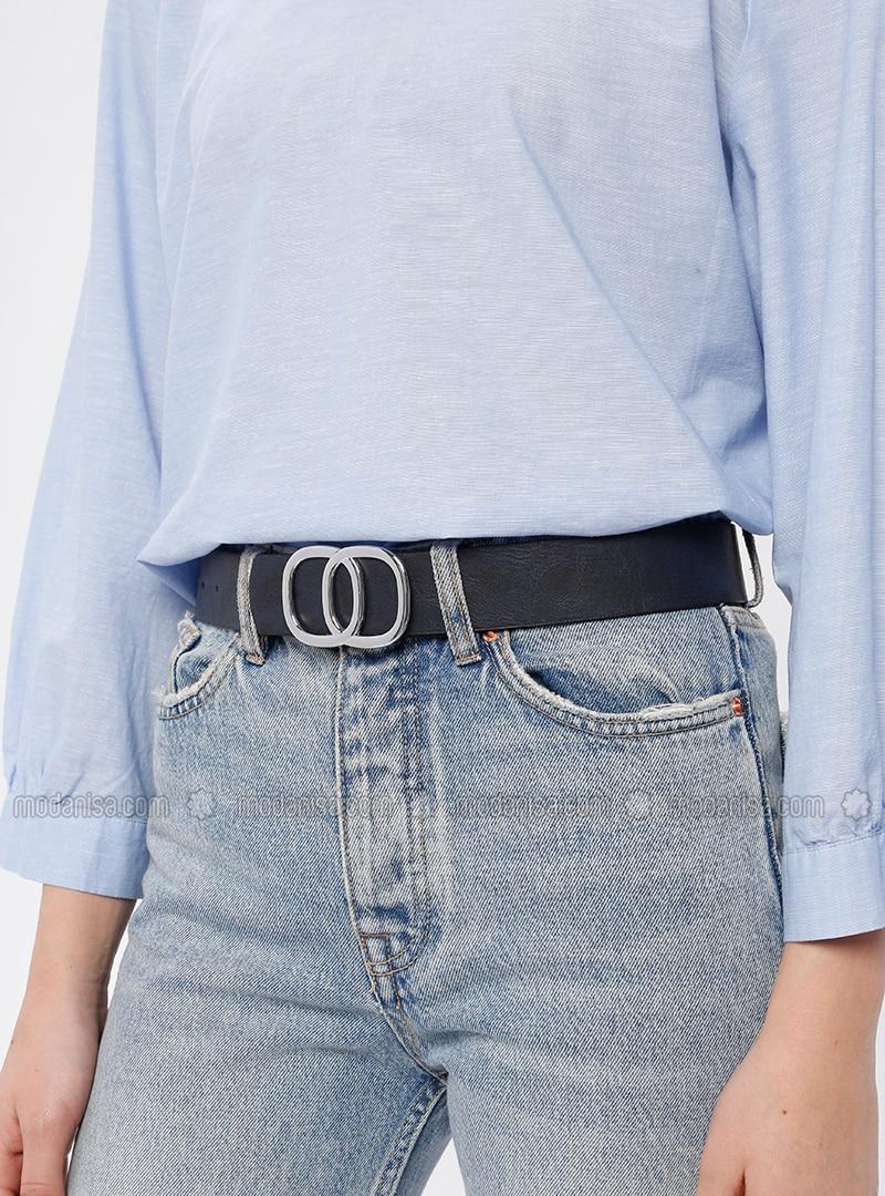 Navy Blue - Belt