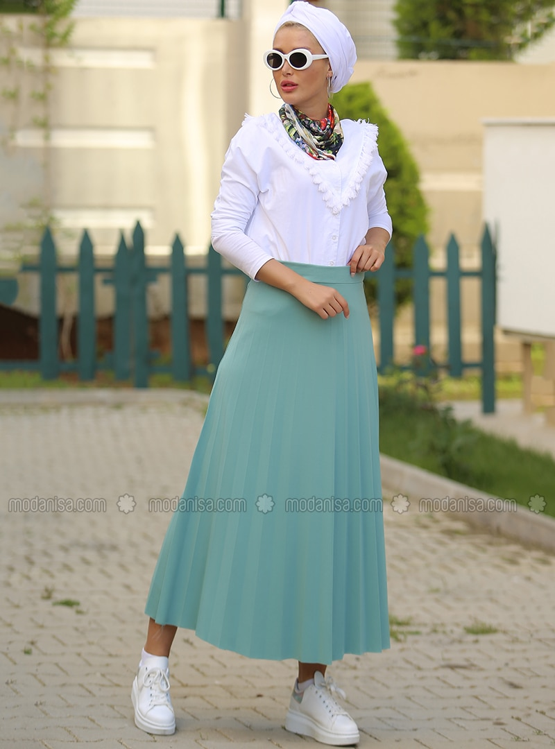 Mint - Unlined - Skirt