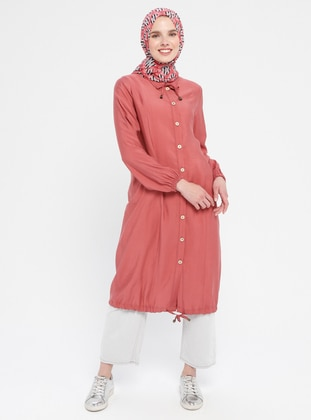 Dusty Rose - Unlined - Point Collar - Topcoat