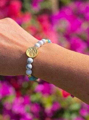 Blue - White - Bracelet