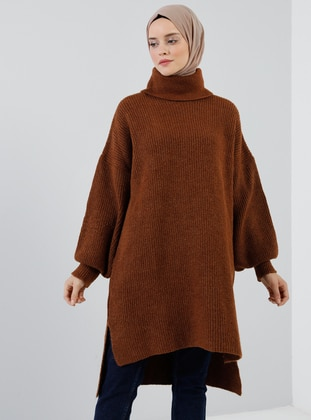 Cinnamon - Polo neck - Acrylic -  - Tunic