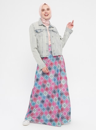 Multi - Fully Lined - Skirt