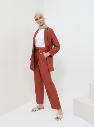 Terra Cotta - Viscose - Pants