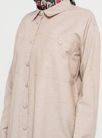 - Point Collar - Cotton - Tunic
