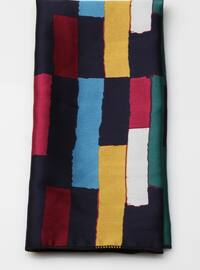 Multi - Striped - Printed - Shawl Wrap
