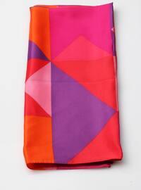 Multi - Printed - Geometric - Shawl Wrap