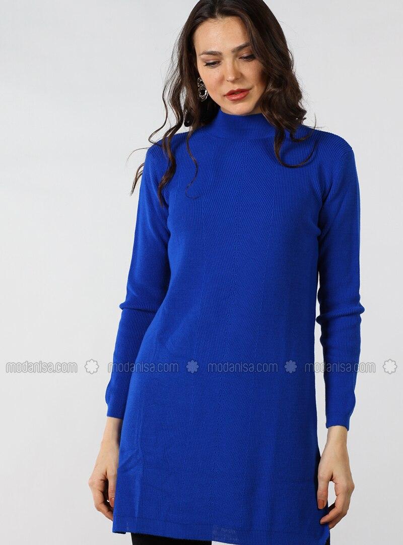 Saxe - Polo neck - Cotton - Tunic