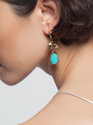 Blue - Turquoise - Earring