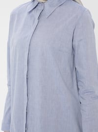 Saxe - Point Collar - Cotton - Tunic