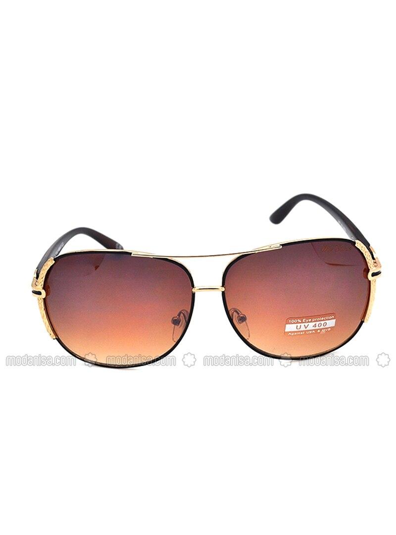 55f1e9528 بني - نظارات شمسية