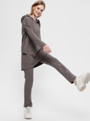 Smoke - Unlined - Cotton - Suit