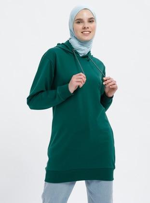 Emerald - Cotton - Tracksuit Top