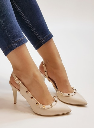 Beige - High Heel - Shoes