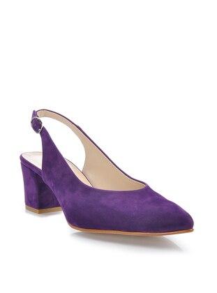 Purple - High Heel - Heels - Vizon