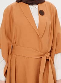 Terra Cotta - Unlined - Shawl Collar - Topcoat