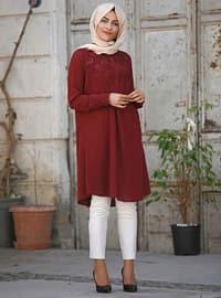 Maroon - Cotton - Tunic
