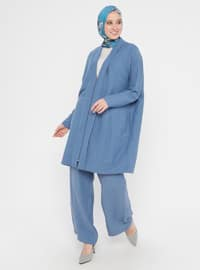 Blue - Indigo - Unlined - Suit