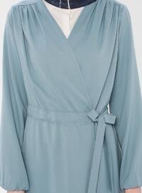 Mint - Unlined - Shawl Collar - Cotton - Topcoat