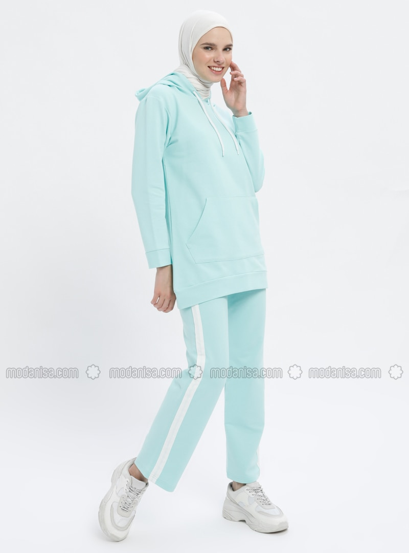 Mint - Cotton - Tracksuit Set
