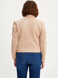 Beige - Girls` Jacket