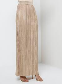 Unlined - Gold - Evening Skirt