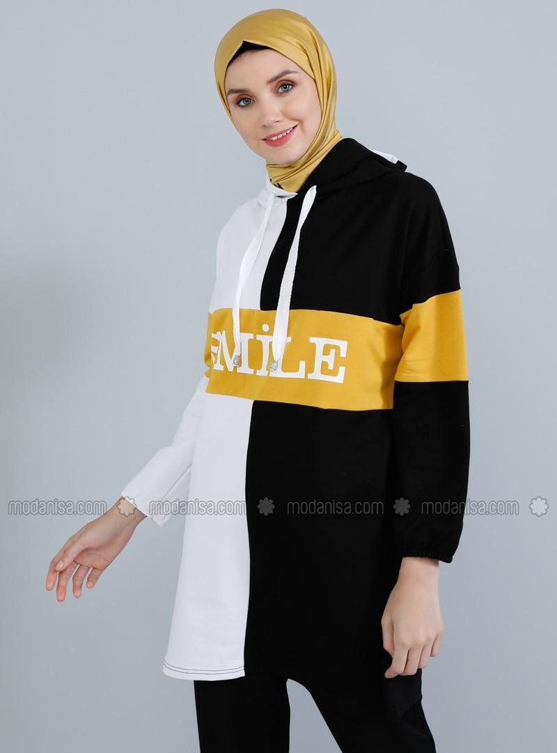 White - Black -  - Tunic