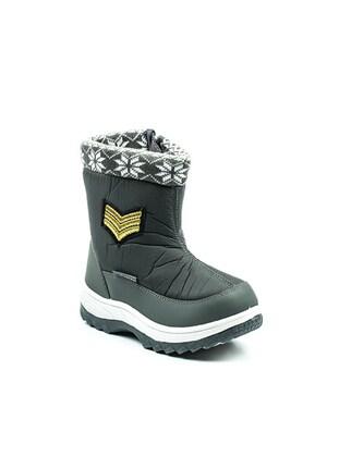 Gray - Boys` Boots