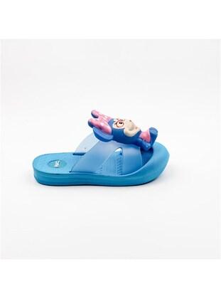 Blue - Girls` Slippers
