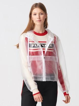 Ecru - Unlined - Puffer Jackets
