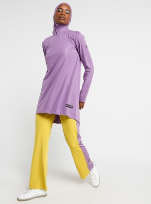 Lilac - Crew neck - Tracksuit Top