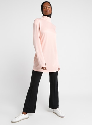 Salmon - Polo neck - Tracksuit Top