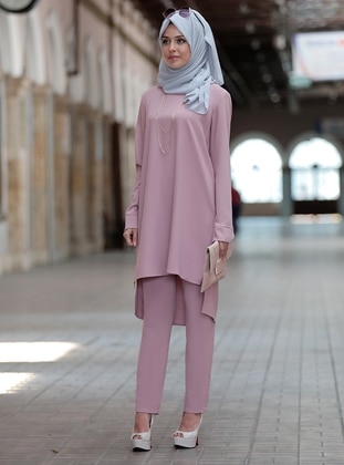 Dusty Rose - Fully Lined - Cotton - Suit