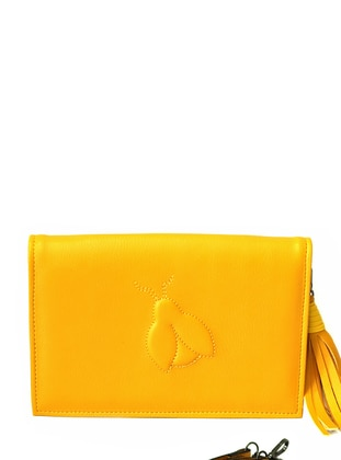 Yellow - Clutch Bags / Handbags