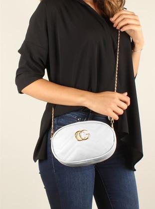 White - Ecru - Shoulder Bags - Luwwe Bag's