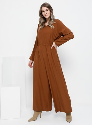 Cinnamon - Unlined - Jumpsuit - Alia