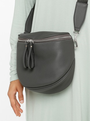 Gray - Satchel - Bum Bag