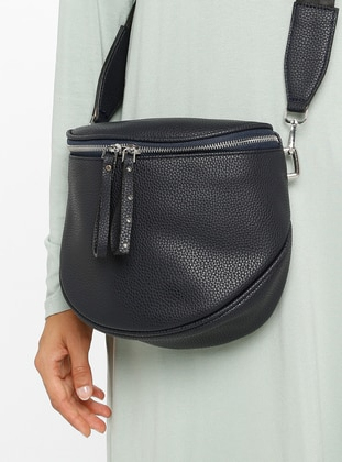Navy Blue - Satchel - Bum Bag