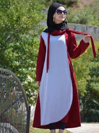 Maroon - Cotton - Abaya